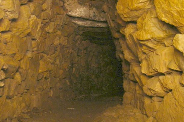 Chambre principale du Halliggye Fogou