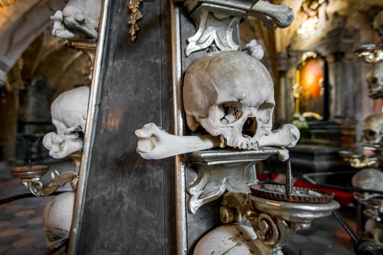 crâne osseux sedlec